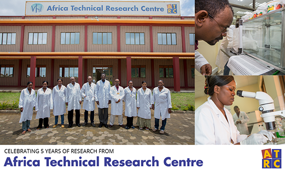 Celebrating five years of the Africa Technical Research Centre