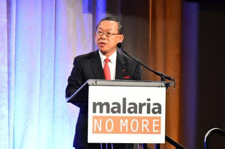 Sumitomo Chemical Executive Selected for New RBM Partnership Board Honored at Malaria No More Gala